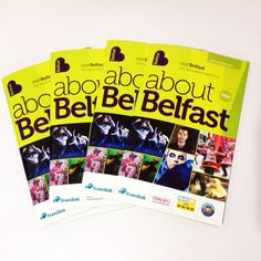 Pick up your free About Belfast guide at #VisitBelfast Welcome Centre for information on events, attractions and festivals in Belfast.