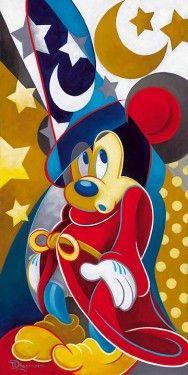 "*MICKEY SOURCER'S APPRENTICE *Fantasia, 1940.... ""MAGICAL MOMENT"""