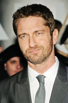 Gerard Butler. Great actor. Would love to meet him