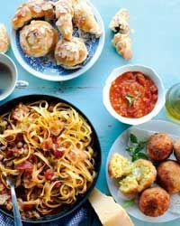 all italian menu