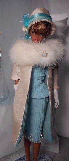 Vintage Repro Barbie Silkstone FR Popy Parker Nu face Fashion Handmade OOAK Mary in | eBay