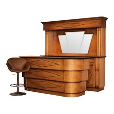 art deco style front and back bar is part of Art deco bar - Art Deco Style Front and Back Bar artDeco House Art Deco Bar, Art Deco Decor, Art Deco Stil, Bar Art, Art Deco Home, Art Deco Design, Art Deco Furniture, Plywood Furniture, Bar Furniture
