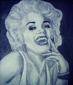 Marilyn Monroe by DanniDeArt on DeviantArt Art Painting, Sculptures, Drawings, Painting, Deviantart, Art, Marilyn Monroe Art
