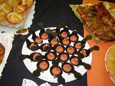 esferificacions de pa amb tomaquet amb fuet