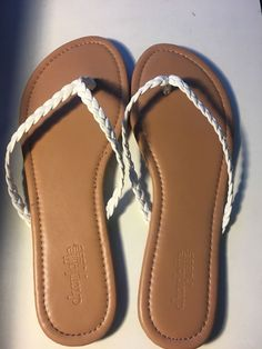 824f9ea5f charlotte russe Sandals Women US 7 Flip Flops