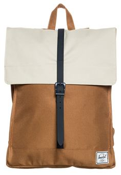 Herschel CITY - Rucksack - caramel/natural/navy rubber