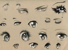 Eye Studies #2 by Kipichuu.deviantart.com on @deviantART
