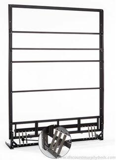queen size murphy bed frame door style - Murphy Bed Frame Queen