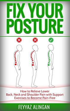 Yoga Fitness, Health Fitness, Fix Your Posture, Exercises, Workouts, Neck And Shoulder Pain, Free Kindle Books, No Equipment Workout, Pose