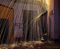 El Oxido del tiempo: Fotografía nocturna y Light Painting