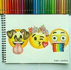drawing, snapchat, and emojis image <3