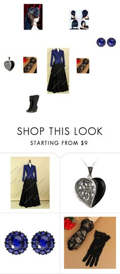 """Victorian lady #2"" by bluesakurarose on Polyvore featuring Glitzy Rocks and Color My Life"