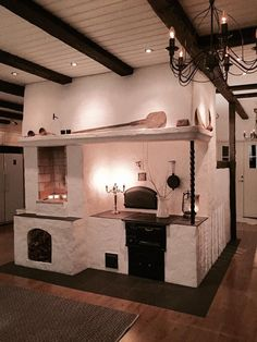 Kitchen Decor Ideas Apartment is utterly important for your home. Whether you pick the Decorating Ideas For Kitchen Walls or Decor Top Of Kitchen Cabinets, you will make the best Decor Top Of Kitchen Cabinets for your own life. Rustic Kitchen Design, Scandinavian Home, Interior Design Living Room, My Dream Home, Home Kitchens, Sweet Home, New Homes, House Design, Kitchen Walls
