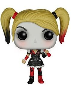 Amazon.com: Funko Batman: Arkham Knight - Harley Quinn POP! Action Figure: Funko Pop! Heroes:: Toys & Games