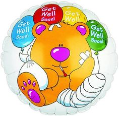 Bargain Balloons has over designs of Balloons and Mylar Balloons at discount prices. Get Well Soon Images, Get Well Soon Funny, Get Well Soon Messages, Get Well Soon Quotes, Well Images, Get Well Wishes, Get Well Cards, Mylar Balloons, Wells