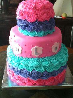 little girls birthday cake - Google Search
