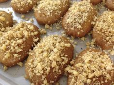 December is National Cookie Day; We Celebrate with Finikia - The Pappas Post Greek Sweets, Greek Desserts, Greek Recipes, Recipe Ideas, Vegan Sweets, Vegan Desserts, Vegan Recipes, Delicious Desserts, Breads