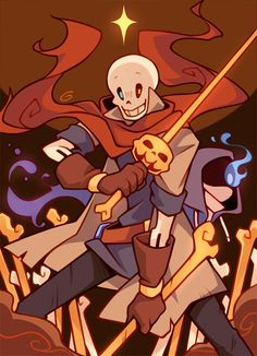 """""""Papyrus is gonna turn you into dust"""" Frisk From Undertale, Undertale Amino, Frans Undertale, Undertale Comic Funny, Anime Undertale, Undertale Drawings, Sans Cute, Rpg Horror Games, Black Anime Characters"""