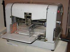 "Duplicating machine, model ""Cyklos"""