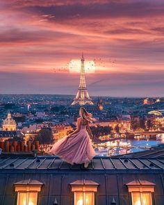 Rooftops of Paris with Eiffel Tower backdrop Beautiful Paris, I Love Paris, Paris Pictures, Paris Photos, Silvester Trip, Torre Eiffel Paris, Paris Eiffel Tower, Photos Originales, Paris Photography