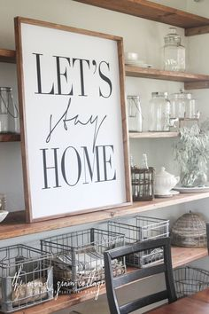 If there's one thing that's absolutely certain about me and our home, it's that I love to change things around. I love reusing what I already have in new ways, but I also love adding new statement items too. Our new dining room sign is just that… a statement piece. I've mentioned it before, but... Read more