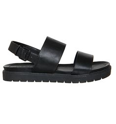 fa7d4f10b Office Optic Double Strap Sling Sandal Black - Sandals Black Office