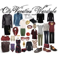 City Vacation Wardrobe