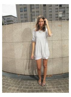 Office Style = Sophie L. (17/08/2012)    Streetstyle Hippie chic    Pull Sandro