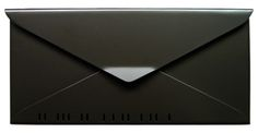 What a creative mailbox from www.mailboxworks.com! (No 10 Wall Letterbox Dark Bronze)