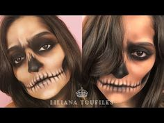 How to: Create This Easy Skull Makeup Tutorial For Halloween  
