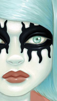 I love Tara McPherson's art, its kinda creepy sometimes but I still love it