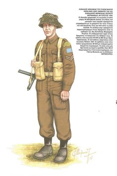 Canadian Soldier (Normandy 1944)
