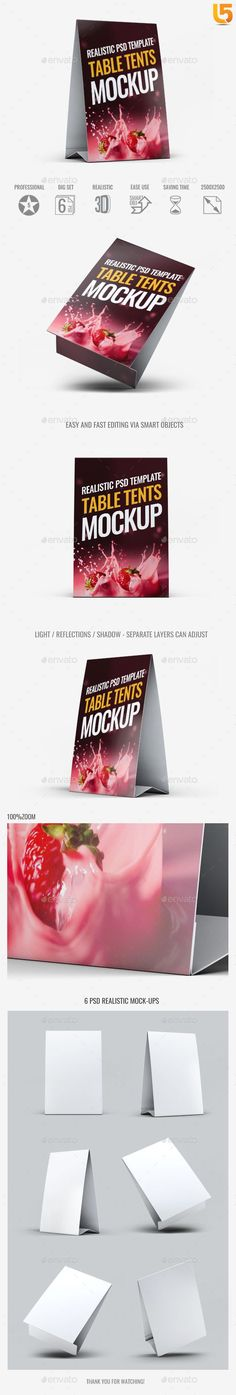 Table Tents Mock-Up V.1