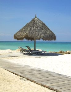 Aruba... I love this place so peaceful and beautiful.  If you ever get an opportunity go!!!