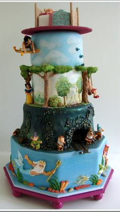 "An incredible job. A storybook experience ""in cake""!"