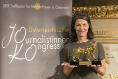 Ö1-Journalistin Gabi Waldner ist Medienlöwin 2017 - Medienpreise - derStandard.at › Etat