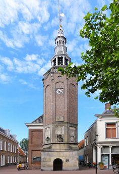 Harlingen - Raadhuistoren - Voorstraat (The Netherlands)