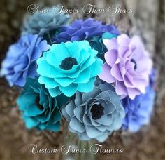 Handmade Paper Flowers - Weddings - Parties - Special Events - Home Decor