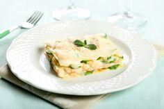 lasagne di pesce piatto