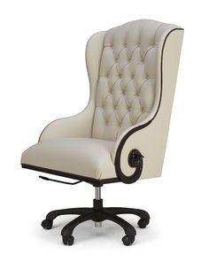 The Chairman W 65cm D 75cm H 116cm, max seat height 57cm