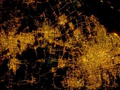 9 Incredible Pictures of City Lights From Space Shanghai, Nasa, Earth At Night, Light And Space, Earth From Space, Life Is An Adventure, City Lights, The Incredibles, Earth