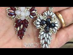 Jewelry Making Tutorials, Jewellery Making, Baubles And Beads, Beaded Cross, Beaded Jewelry Patterns, Bead Earrings, Pendants, Projects, Earrings Handmade