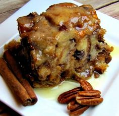 To Die For Bread Pudding Slow Cooker | cooking for you