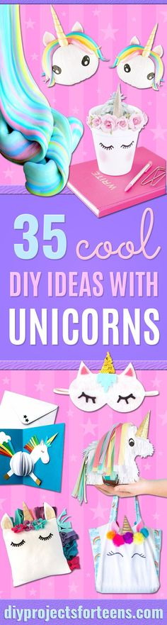 diy-projects-crafts-diy-home-decor-diy-crafts-diy-room-decor-crafts-for-kids-diy-crafts-for-the-home-diy-crafts-to-sell-diy-crafts-for-kids/ SULTANGAZI SEARCH Diy Projects For Kids, Diy Crafts For Kids, Sewing Projects, Kids Diy, Easy Crafts, Project Ideas, Craft Projects, Diy Unicorn, Unicorn Crafts