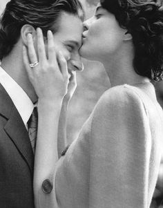 35 YEARS AGO WE MET AND WE THANK OUR GOD, WE ARE EVEN MORE IN LOVE NO MATTER WHAT WE WENT THROUGH................... Shalom Harlow by Peter Lindbergh for Tiffany & Co THANKS TO OUR GOD XO