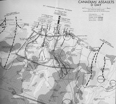 1 Canadian Division - D Day assaults