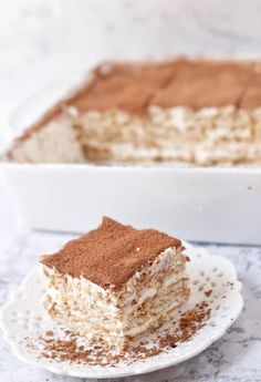 Cake Mix Recipes, Tart Recipes, Dessert Recipes, Cold Desserts, Great Desserts, Nescafe Recipe, Espresso Cake, Bakery Cakes, Cake Ingredients