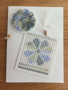 Stitching On Paper, Cross Stitching, Cross Stitch Embroidery, Cross Stitch Patterns, Cross Stitch Boards, Mini Cross Stitch, Cross Crafts, Bead Crafts, Cross Stitch Beginner