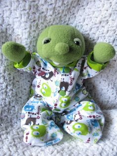 Chip and His PJs PDF Sewing Pattern by NimblePhish on Etsy