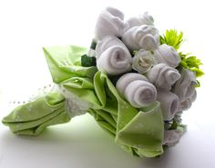 baby shower bouquet: via Free to be Lea